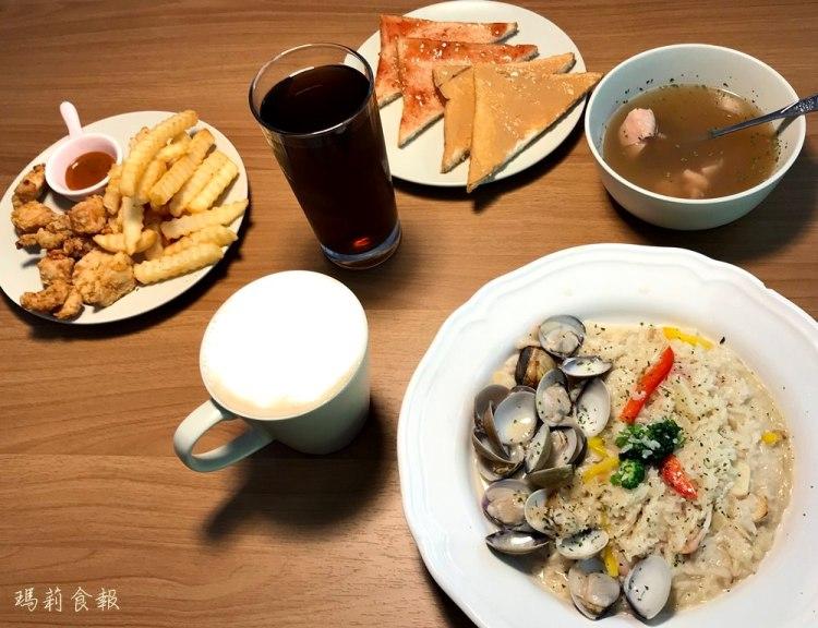 台中西區美食|艾美晨光早午餐 份量十足平價美味 飲料無限續杯(附菜單)