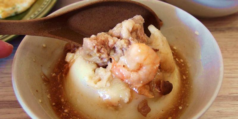 台中西區美食|小蝦米碗粿 來自彰化和美的古早味米食老店 葷素甜都有