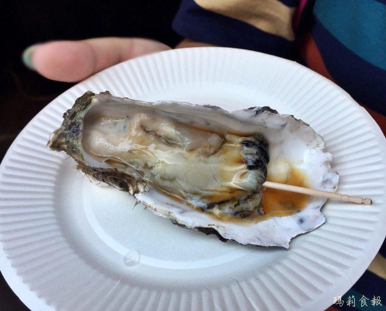 東京築地|北海道來的新鮮生牡蠣 虎杖 美味海鮮不能錯過