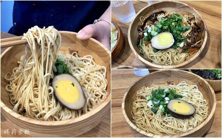 台中西區|花山家宣麵食舖 文青風格包裝的平價傳統風味乾麵店
