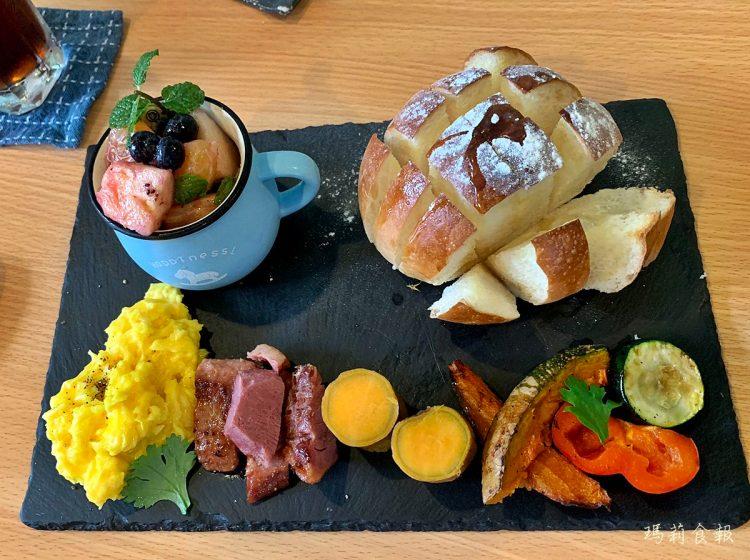 台中西區美食|森渡手作廚房 吃得到食物原味的美麗手做餐點 SOGO商圈早午餐