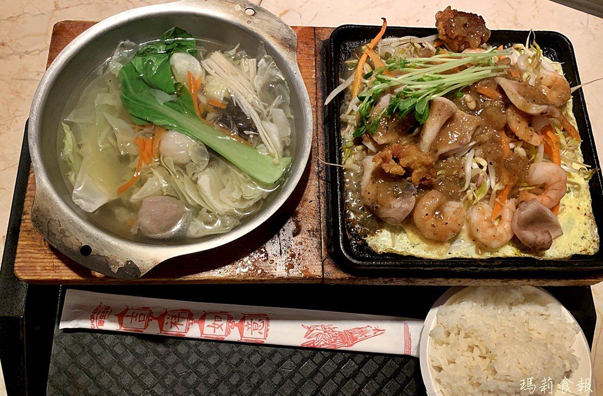 台中北區,中友百貨公司美食餐廳懶人包,台中個人鐵板料理