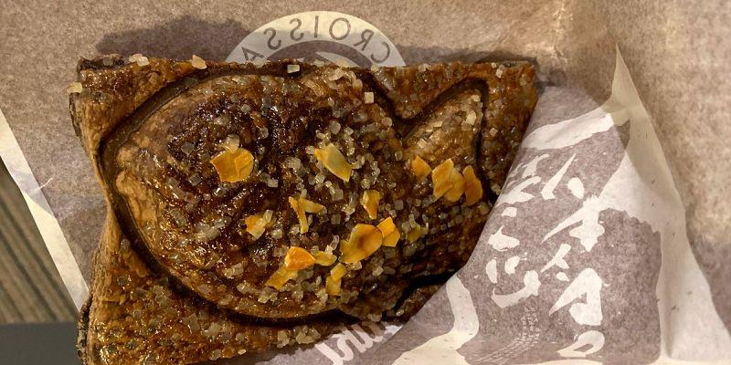 東京晴空塔|銀のあん 鯛魚燒 可頌鯛魚燒 層疊酥脆甜蜜的驚喜口感