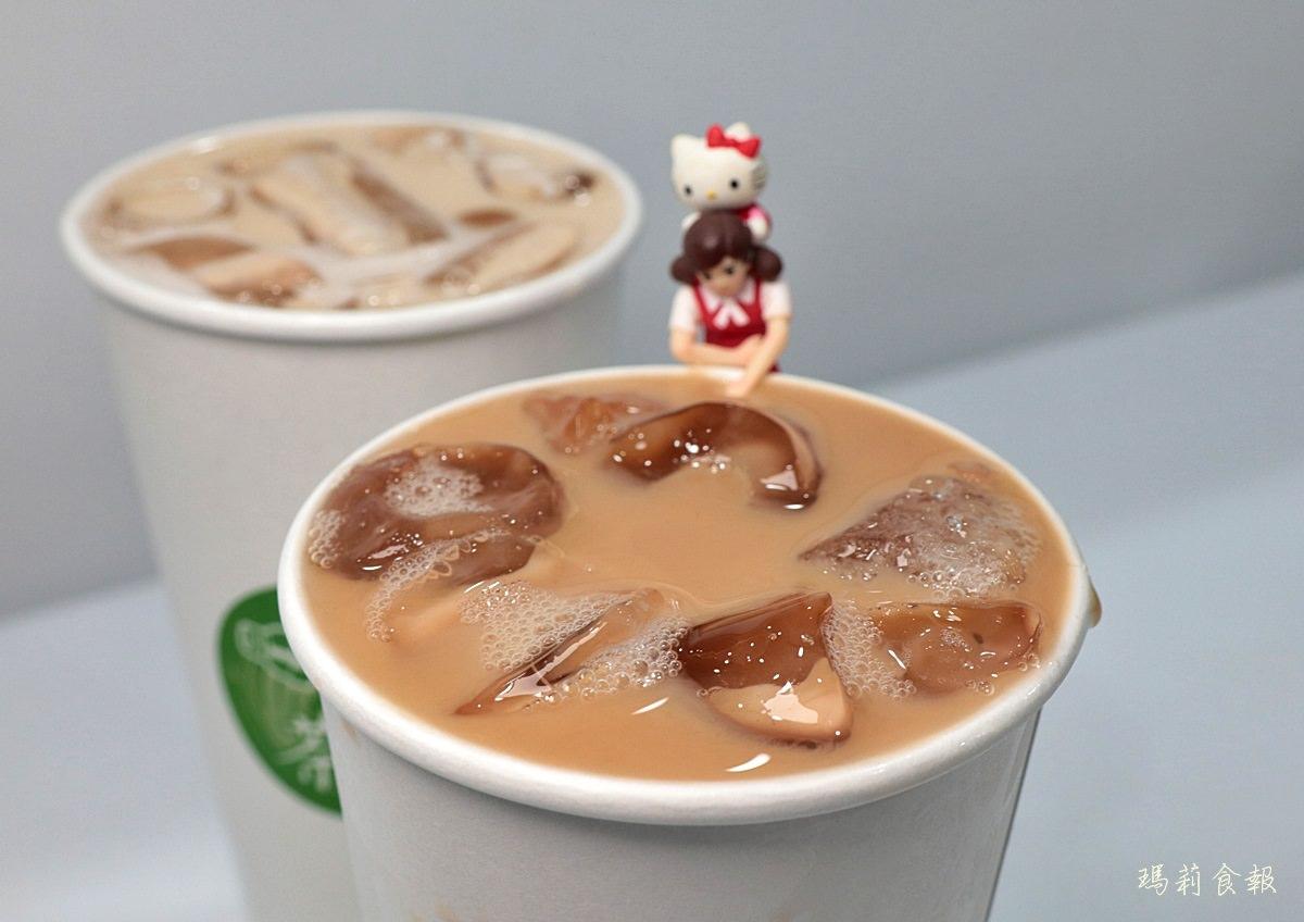 茶覓,台中飲料,生態有機茶品的老欉阿薩姆紅茶拿鐵