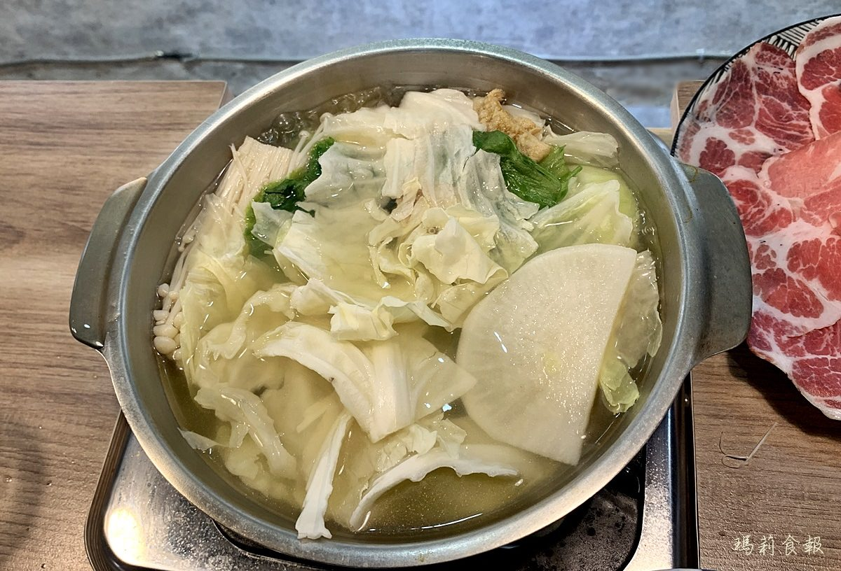 台中西區美食,老式吃鍋,勤美商圈,清爽的湯頭