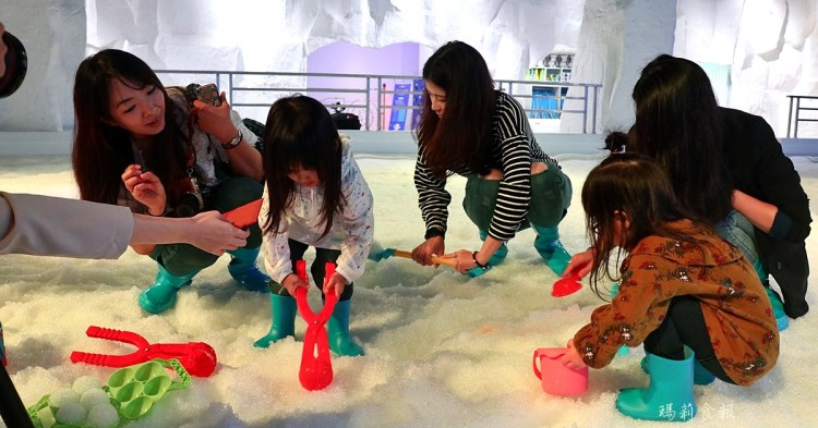 台中三井|SNOW TOWN 雪樂地 全台第一家恆溫20度雪場 台中就能堆雪人 打雪仗囉
