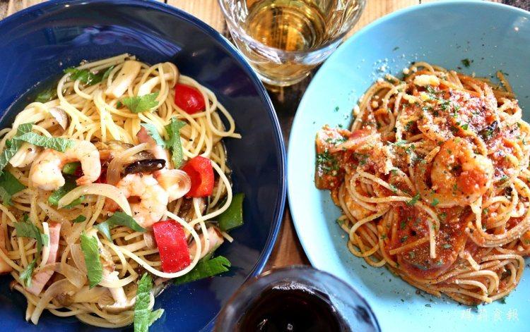 沖繩石垣島 麵處 & cafe トリコ食堂 在南國風情的小食堂裡品嚐義大利麵