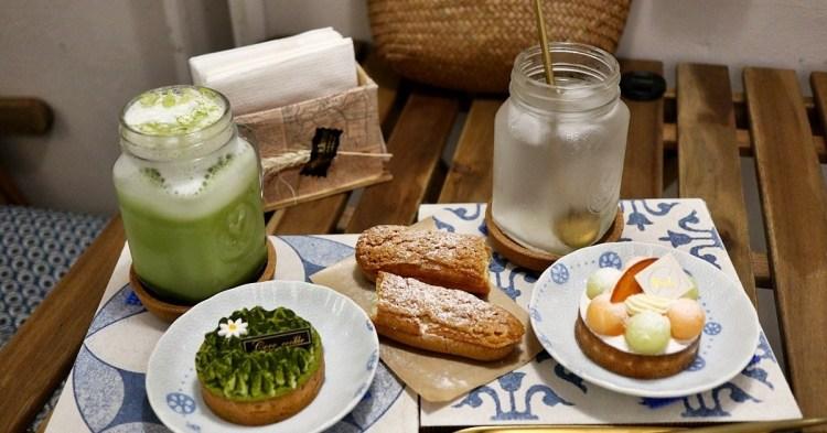 台中北區 可可庫奇甜點工坊(附菜單)水果塔必點 中友一中商圈 甜點午茶推薦