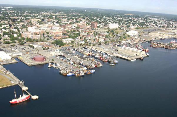Homers Wharf In New Bedford MA United States Marina