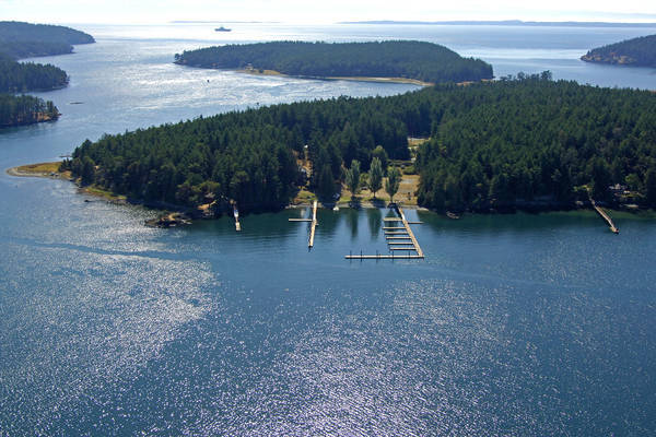 Seattle Yacht Club On Henry Island In Yacht Haven WA