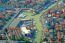 Cattolica Harbour Marina In Marche Italy