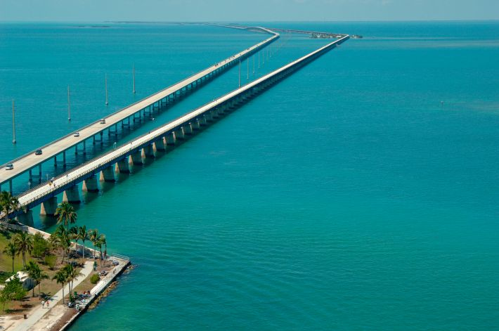 Image result for Seven Mile Bridge, Florida