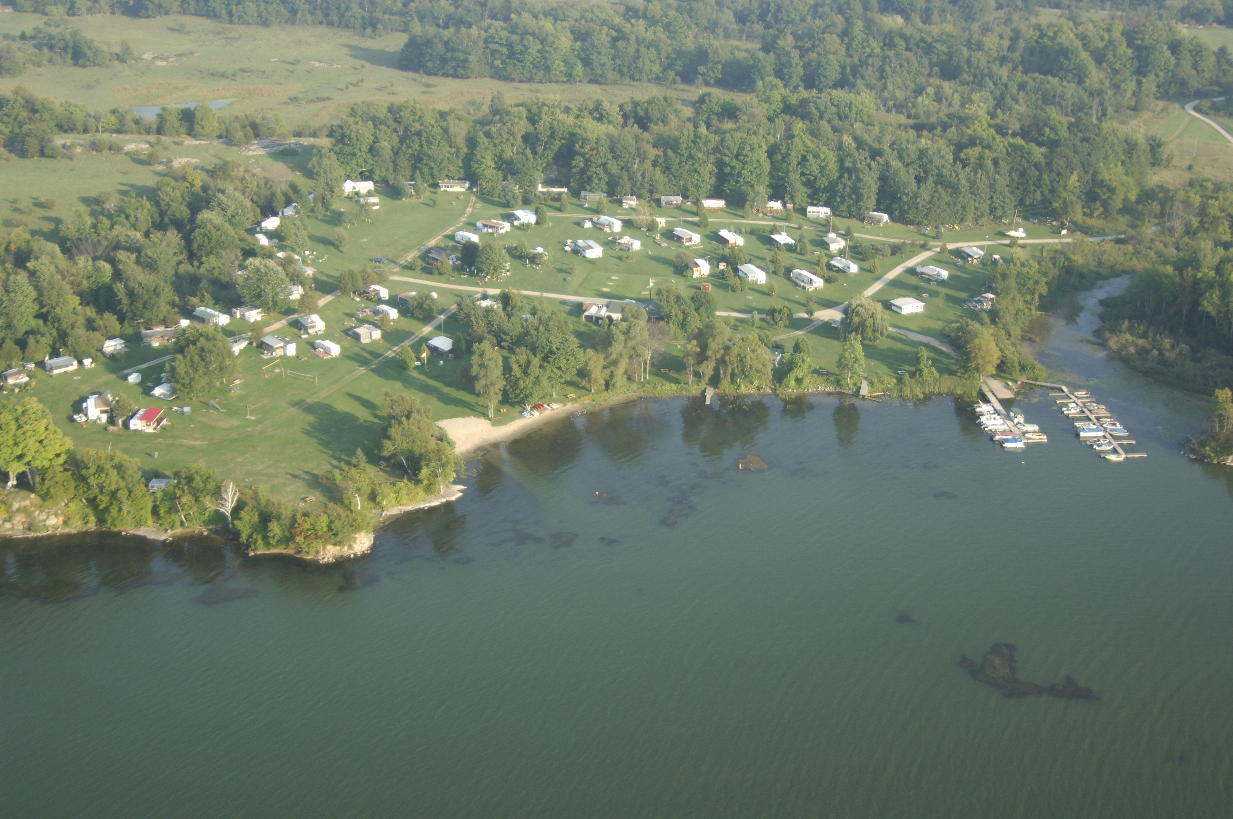 Cranberry Lake Campgrounds In Seeleys Bay ON Canada