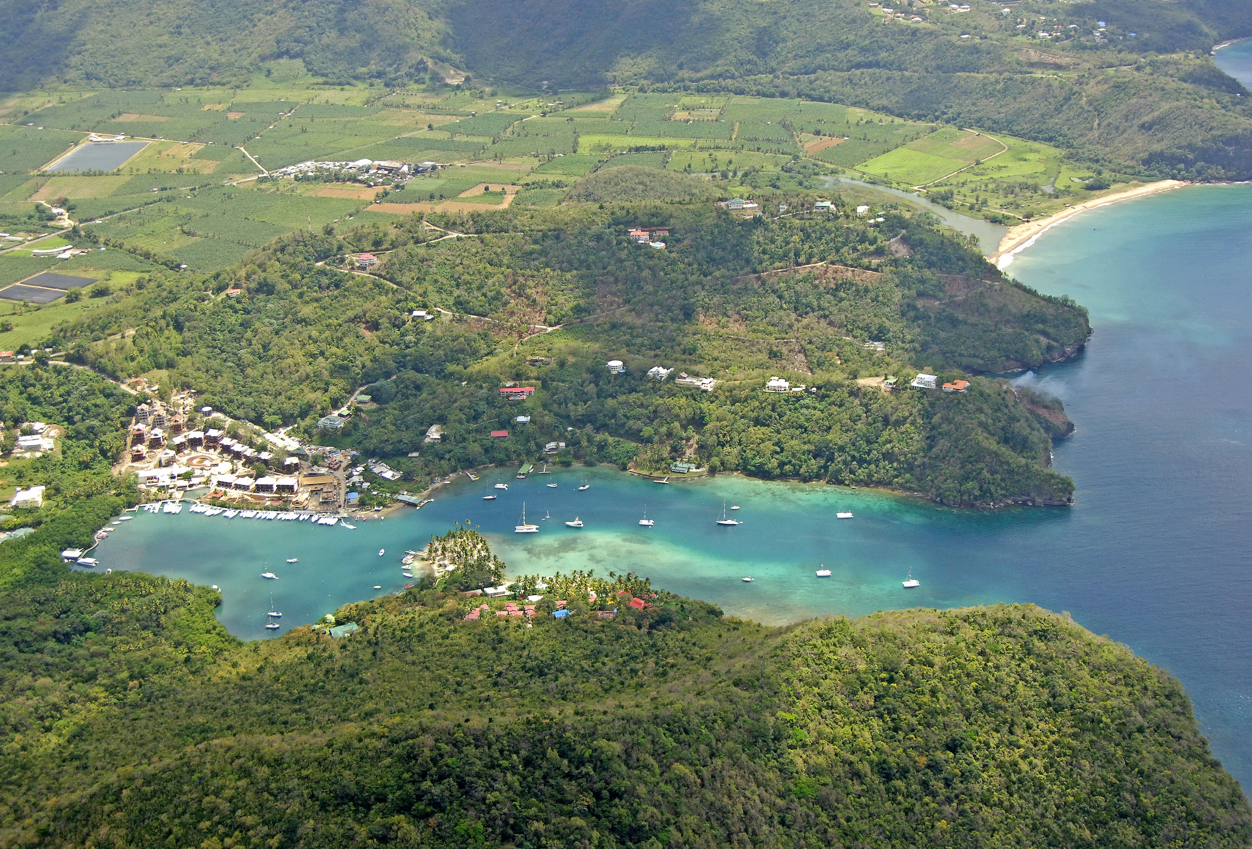 Marigot Bay In St Lucia Harbor Reviews Phone Number