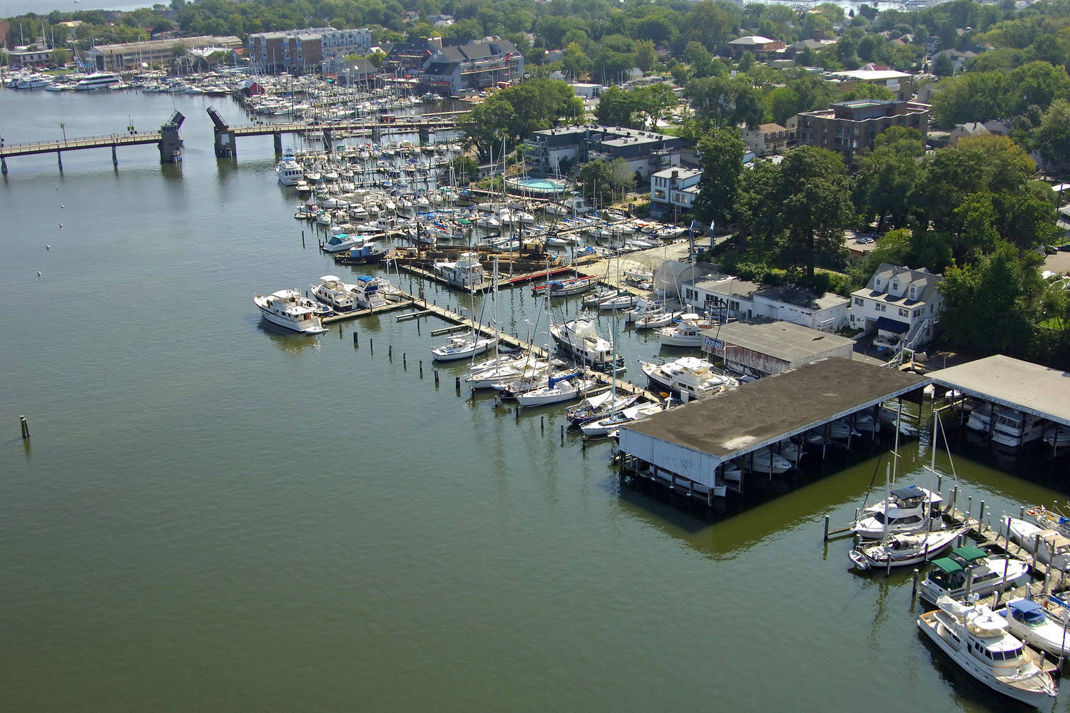 South Annapolis Yacht Centre Slip Dock Mooring