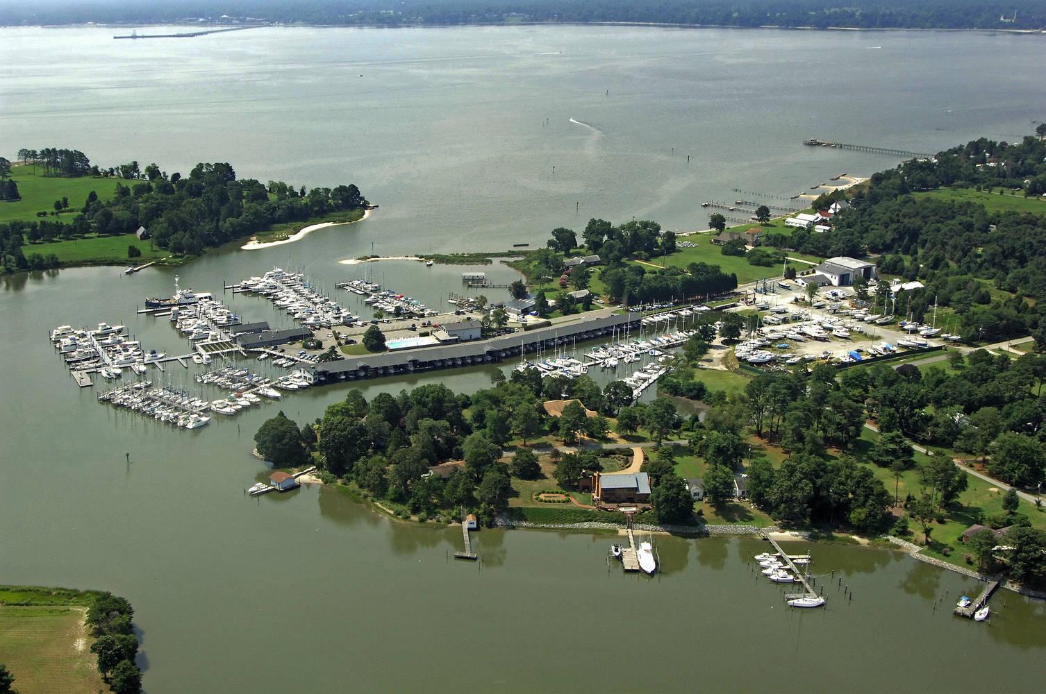 York River Yacht Haven Slip Dock Mooring Reservations