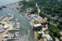 Mystic Downtown Marina In Ct United States