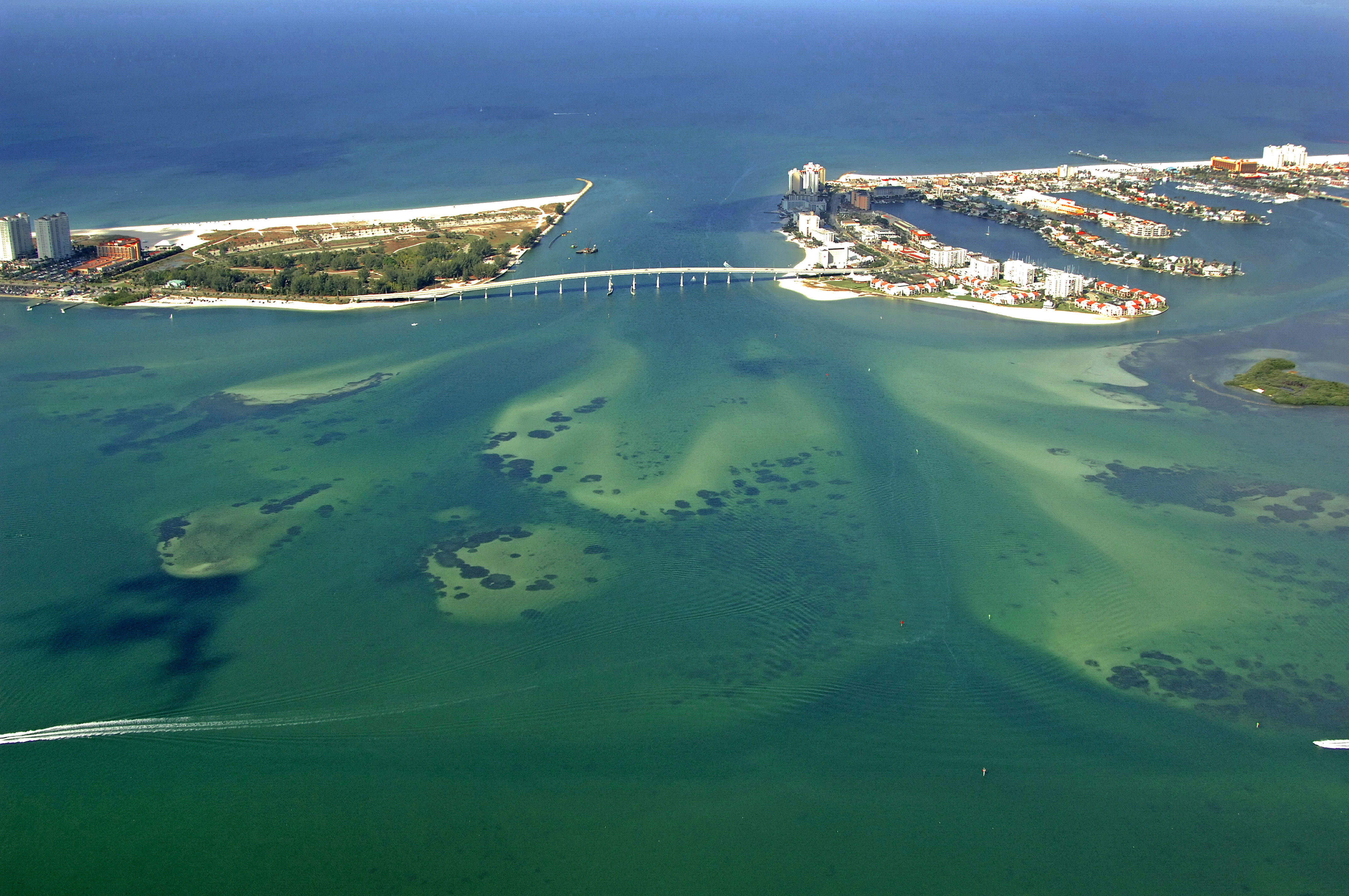 Clearwater Harbor In Clearwater FL United States