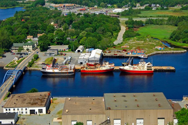 Mersey Seafoods Ltd in Liverpool, NS, Canada - Marina ...