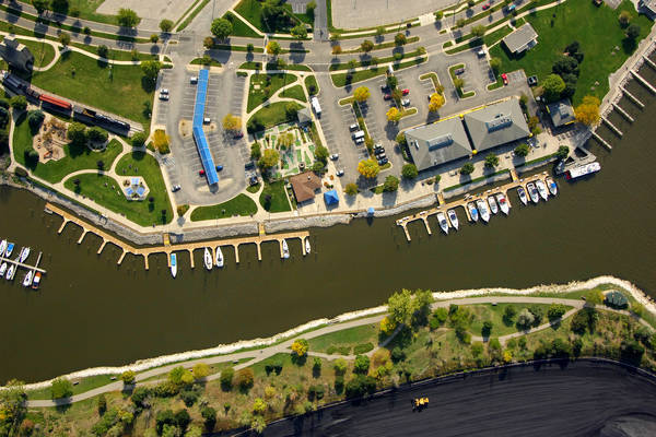 Grand Haven Municipal Marina In Grand Haven MI United