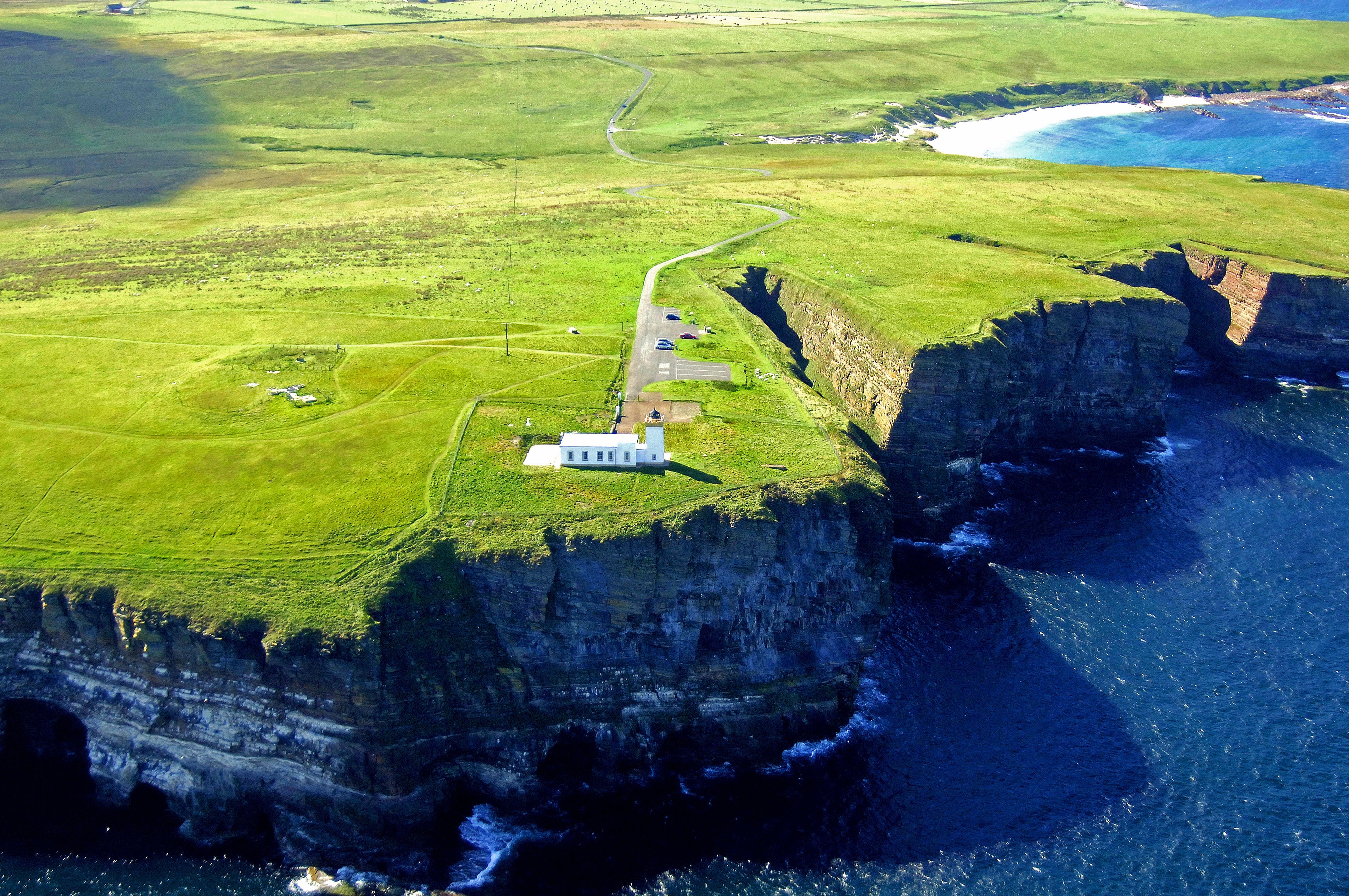 Duncansby Head Lighthouse In John OGroats SC United
