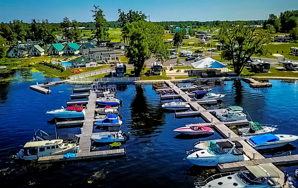 SWAN BAY RESORT 1000 Islands Premier RV Resort Vacation