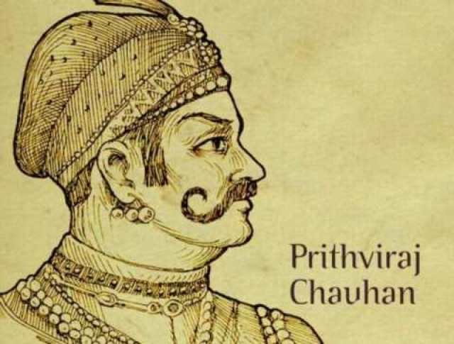 The last Hindu emperor of Delhi, who has Tearing the lion jaw with his hands