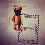 prangko dari Suriname
