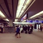 titik pertemuan terminal kedatangan