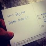 kartu pos dari Sky100