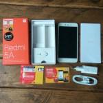 isi kemasan Xiaomi Redmi 5A