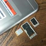 slot kartu SIM dan kartu SD mikro Xiaomi Redmi 5A