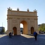 Brandenburger Tor sisi dalam kota, karya Carl von Gontard