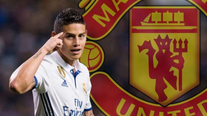 Natiijada sawirka James Rodriguez man united