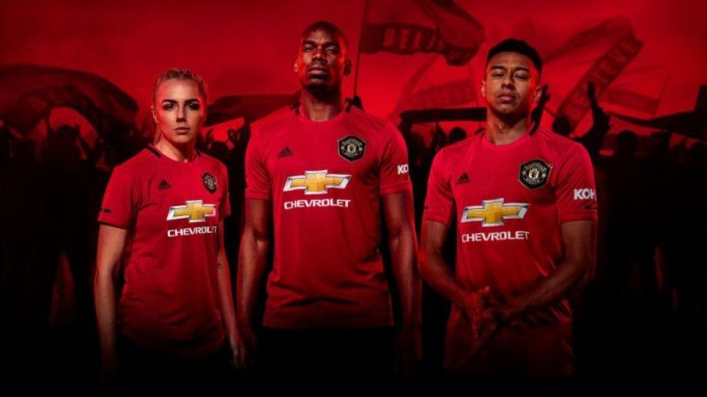 New Manchester United 19 20 Home Shirt Celebrating Treble Anniversary Revealed