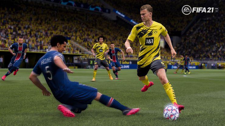 on fifa 21 career mode