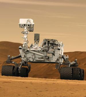 Le Rover Curiosity arrivera ce lundi 6 août sur Mars (Crédit : NASA)