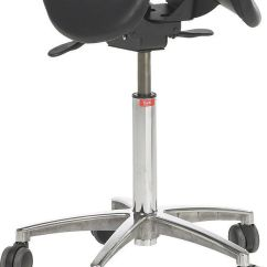 Salli Saddle Chair Glides For Carpet Doctor S Office Stool Height Adjustable Seat On Casters