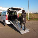 Car Wheelchair Ramp Super Light Mariani Lift System Vehicle Mounted
