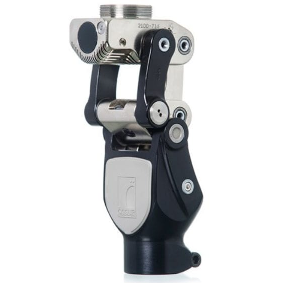 Polycentric prosthetic knee joint - Total Knee® 2100 - Össur - with stance control / hydraulic / manual-lock