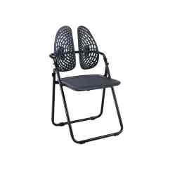 Ergonomic Folding Chair Rolling Stand Waiting Room Wr 537 Well Run Technology
