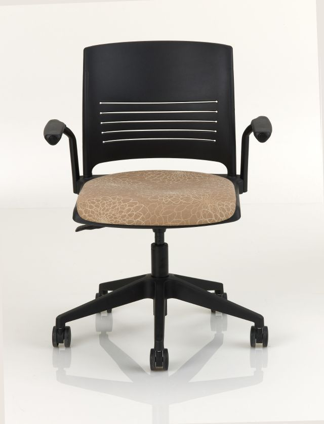 ki strive chair low back computer office with armrests on casters height adjustable