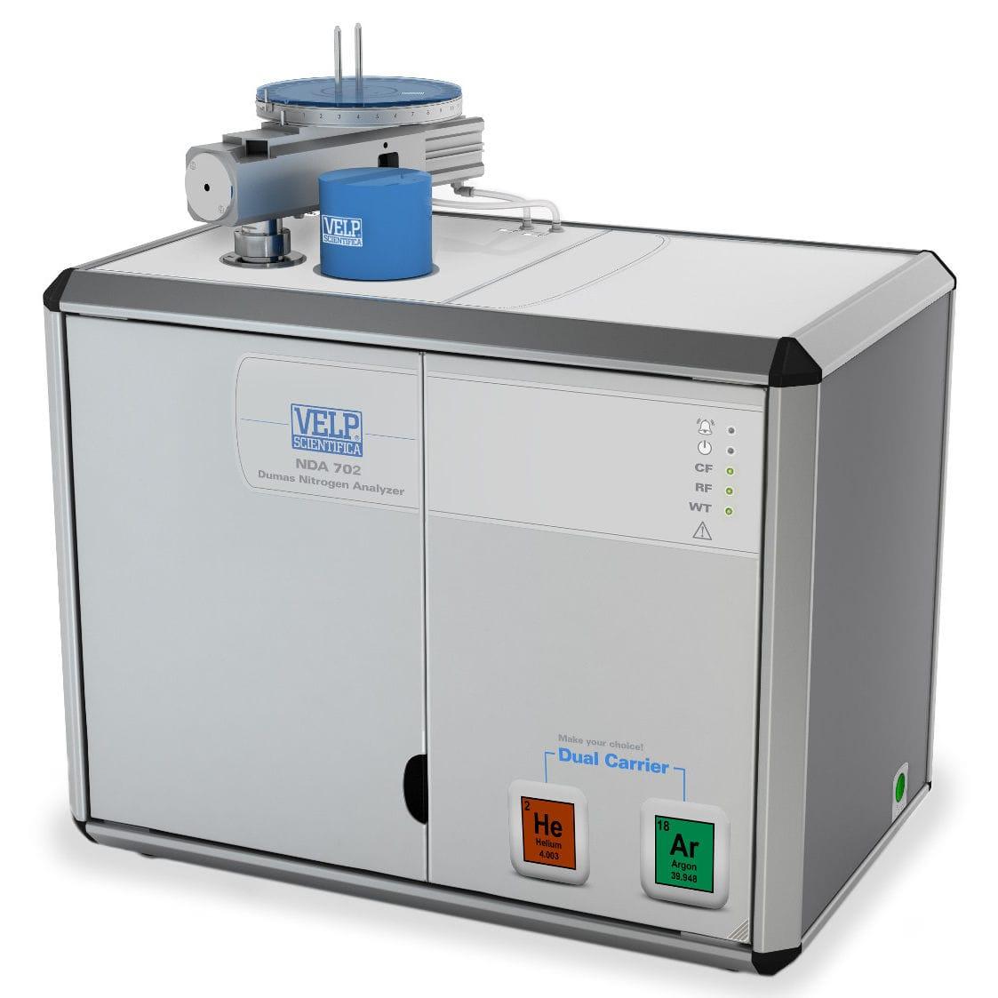 Automatic protein analyzer / benchtop / laboratory / Dumas method - NDA 702 - VELP Scientifica