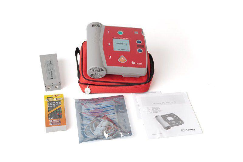 自動外部除細動器 - AED Trainer 2 - Laerdal Medical - 実習用