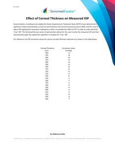 Effect of corneal thickness on measured iop pages also sonomed escalon pdf rh pdfdicalexpo