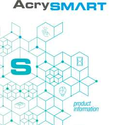 product info acry smart 1 8 pages [ 1000 x 1413 Pixel ]