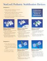 StatLock® Multipurpose Pediatric Stabilization Device - Bard Access Systems - PDF Catalogs | Technical Documentation
