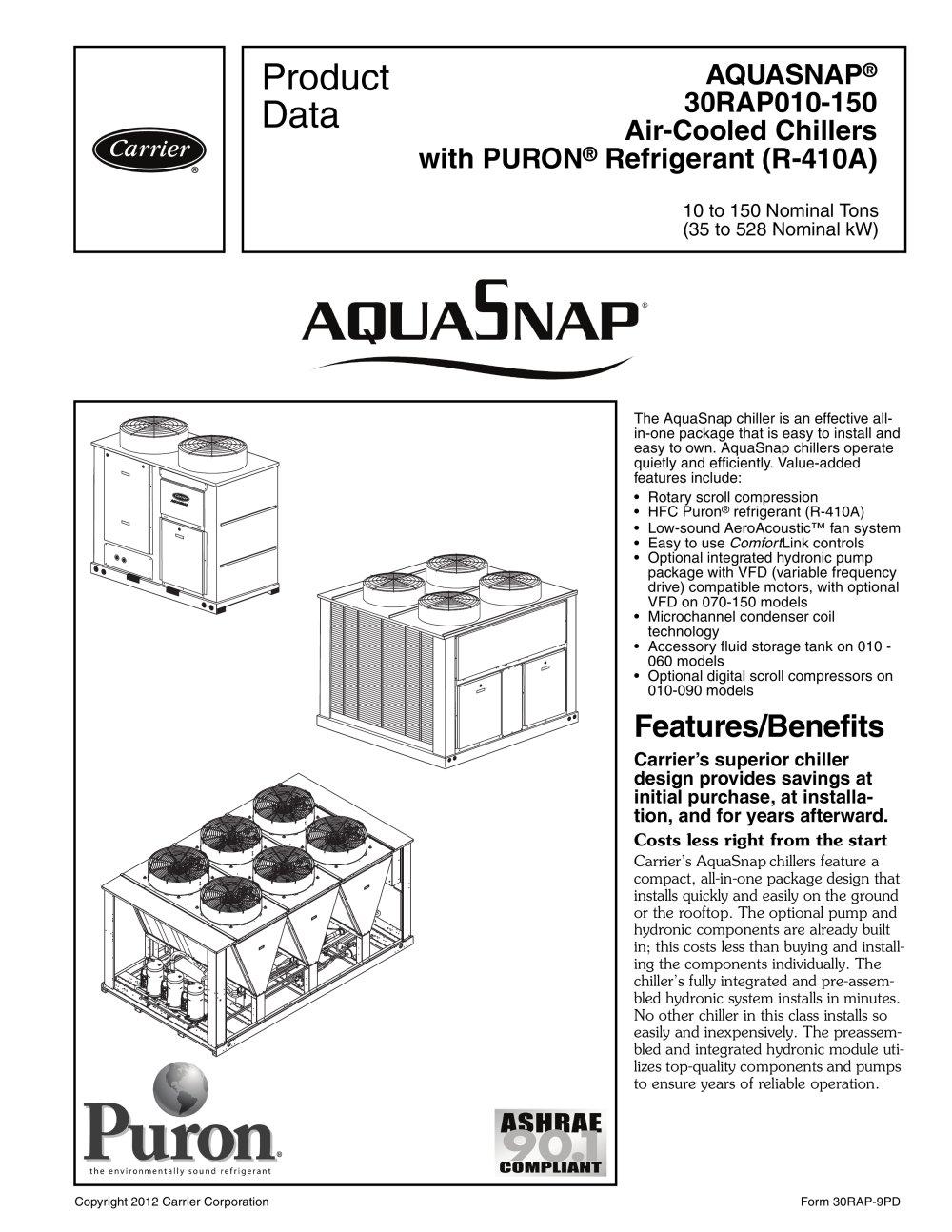 CARRIER 30RAP PDF