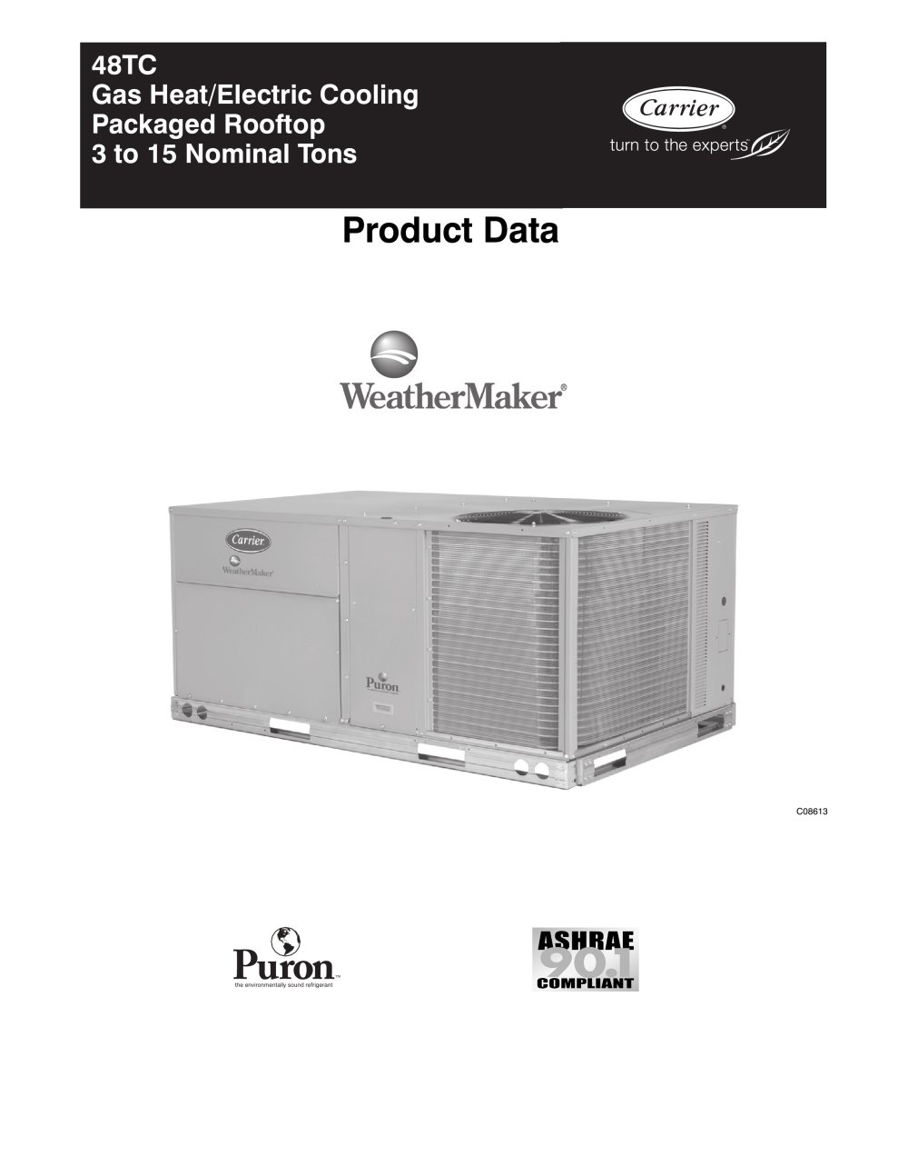hight resolution of  48tc weathermaker 95757 1b 48tc weathermaker carrier commercial pdf catalogue carrier 48hc wiring diagram at