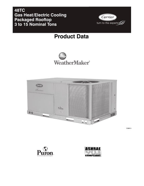 small resolution of  48tc weathermaker 95757 1b 48tc weathermaker carrier commercial pdf catalogue carrier 48hc wiring diagram at